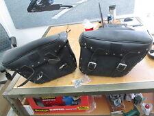 Kentucky Drive K Drive Universal Slant Saddlebags w/ Studs & Hardware CIL135A