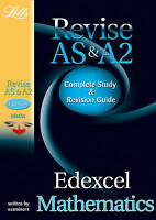 (Good)-Edexcel AS and A2 Maths: Study Guide (Letts A Level Success) (Paperback)-