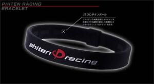 "Phiten Racing 7 1/2"" Micro Titanium Spheres Bracelet Yamaha NEW FREE SHIPPING!!!"