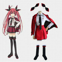 Anime Date A Live Kotori Itsuka School Uniform Cosplay Costume Full Set 8PCS