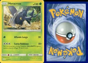COK R@R@ POKEMON-HERACROSS-9/236-HOLO-NEW-MINT-SET ECLISSI COSMICA