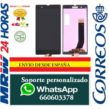 Pantalla Completa Para Sony Xperia Z L36H C6602 C6603 Negra Tactil + LCD Negro