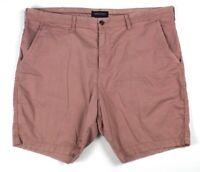 mens rose pink AMERICAN EAGLE shorts next level flex chino slim 42 x 8.5