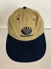 Daewoo Nissin Cap Strap back Hat Khaki Navy