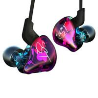 KZ-ZST Dynamic Hybrid Dual Driver Earphone HIFI Bass Headset In-ear Music Earbud