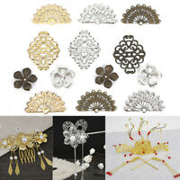 100Pcs Flower Filigree DIY Accessories Metal Crafts Connector For Jewelry·Making