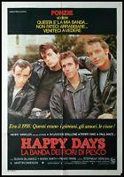 "HAPPY DAYS 1979 Original Movie Poster 39x55"" 2Sh IItalian RARE Rocky Stallone"