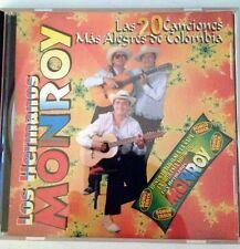 Los Hermanos Monroy / Las 20 Canciones Mas Alegres de Colombia CD