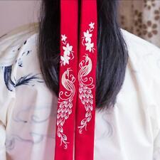 Girl Hanfu Headband Embroidered Headdress Chinese Style Ancient Hair Rope