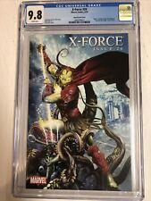 X-Force (2010) # 28 (CGC 9.8 WP) Death Of Nightcrawler | Greg Horn 1:15 Variant
