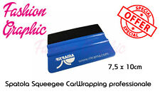 SPATOLA CAR WRAPPING SQUEEGEE PROFESSIONALE GOMMA PVC STICKERS