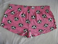 NEW LOOK PJ lit Short: rose Football Pyjamas. Taille 12, NEUF. Pantalons Sexy