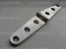 HEAVY DUTY STAINLESS STEEL DOOR HINGE 160 X 27mm A4- 316 MARINE BOAT STRAP HINGE