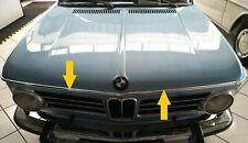 BMW e10 Zierleiste Haube vorne mitte 02-er 1502 1602 1802 2002 Ti Tii Turbo