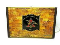 Vintage Anheuser Busch Budweiser Heating Tray - Sales Convention 1975 WORKS