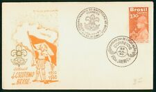 Mayfairstamps Brazil 1960 Scouts First Day Cover wwo1245