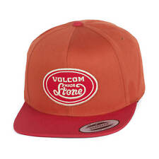 Volcom cresticle Casquette Snapback COPPER ORANGE ROUGE 2 TON bonnet