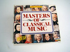 MASTERS OF CLASSICAL MUSIC 2-10 CD Box Set Bach Beethoven Chopin Strauss Vivaldi