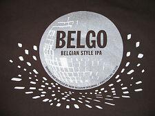New Belgium Brewing Shirt Belgo Belgian Style IPA Beer Mens 2XL