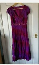 M&S Per Una Purple Sequin Dress Size 14  Beautiful RRP £45