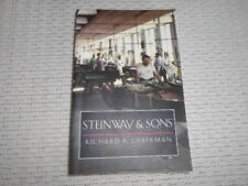 Richard K Lieberman. Stienway and Sons. American piano manufacturer. Post free.