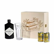 5-teiliges SET REGALO Hendrick's gin-tonic-set incl. incisione motivo vintage