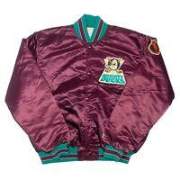 Vintage Mens Large Purple Colorado Rockies Pullover Starter Winter Parka Jacket