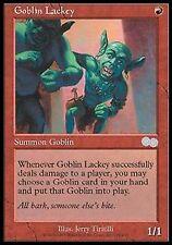 *MRM* FRENCH Larbin gobelin - Goblin lackey MTG Urza's saga