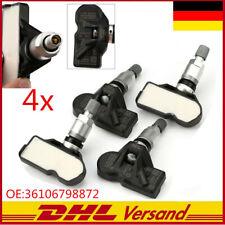 4x Für BMW RDKS TPMS RDCi Reifendrucksensor 36106798872,36106874830, 36106890964