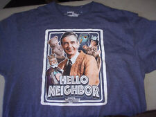 Rogers 1968 Neighborhood Mens White Vintage T-Shirt New PBS Mister Mr
