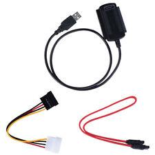 USB 2.0 to SATA PATA IDE 2.5 3.5 inch Hard Drive Adapter Transfer Cable Kit NEW