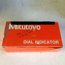 """MITUTOYO 2904S 1"""" Range 100-0 Reverse Read Precision AGD Dial Indicator"""