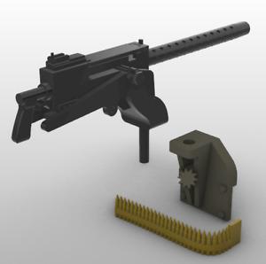 1/18 Scale Battleground M48 Jeep Dashboard Mounted M1919A4 Machine Gun