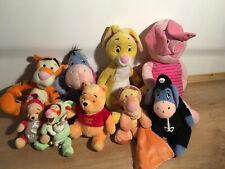 Joblot Bundle Of Soft Plush Disney Winnie The Pooh Character Hug Toys Teddys