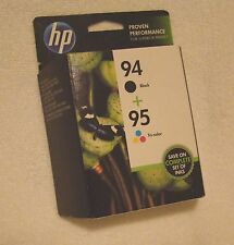 Lot of 4 Sealed Genuine HP Ink Cartridges - HP 94-95,97,23,78