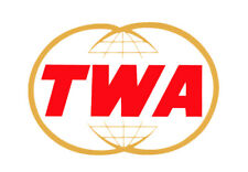 "TWA Airlines 70s Logo 3.25""x2.25"" Collectibles Handmade Fridge Magnet  (LM14009)"