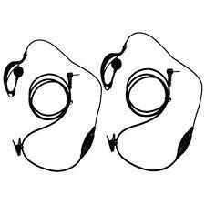 Keesin G forma Clip-Oreja Auriculares/Auricular micrófono para Motorola hablan del 2 de dos vías ra