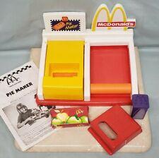 McDonald's Happy Meal Magic Pie Maker w/ Instructions, Mattel 1993
