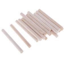 Packung mit rundem Balsaholzstab unfertiger diy Holzmodellierstab 8mm