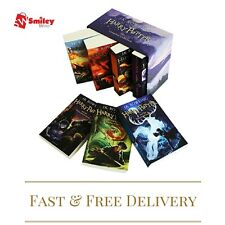 Harry Potter Complete 7 Book Box Set Collection by J. K. Rowling - Gift Set