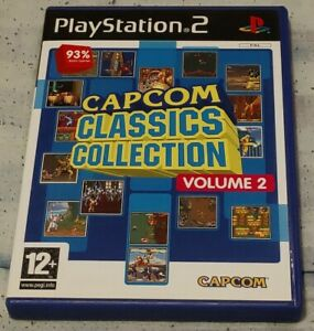 Complete Capcom Classics Collection Volume 2 For PS2 Sony Playstation 2