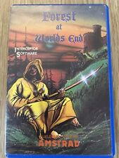 FOREST AT WORLD ENDS AMSTRAD CPC 464 COMPLET ONLY 1 ON EBAY