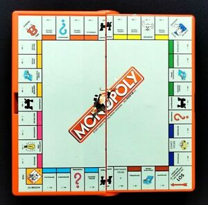 Monopoly Das berühmte Gesellschaftsspiel Reisespiel Parker guter Zustand Pocket