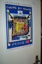 World Cup Football International Fixture Programmes