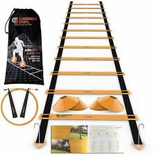 Sports Speed Training Set  Agility Ladder Jump Rope Sport Cones Faster Footwork