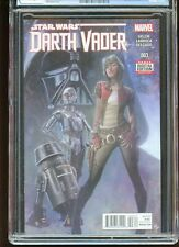 DARTH VADER #3 CGC GRADED 9.8 WHITE PAGES 2015 1st DOCTOR APHRA #3713577083