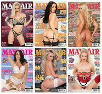 Mayfair Magazine 6 Pack Vol's 54 No's 6,5 3,1 Vol's 53 12 & 13 New Back Issues