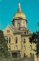 Postcard The Golden Dome, University Of Notre Dame, South Bend, IN