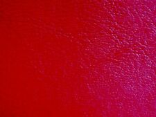 """Red Leather Grain Upholstery Vinyl Fabric by the Roll 30 yards 54"""" Wide"""