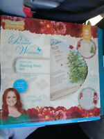NEW - The Pioneer Woman Cheerful Rose 12-Inch Holiday Sharing Plates, Set of 2